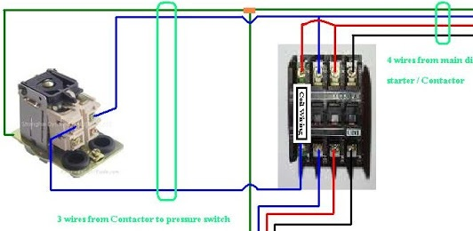 Three Phase Contactor Wiring Diagram   Electrical