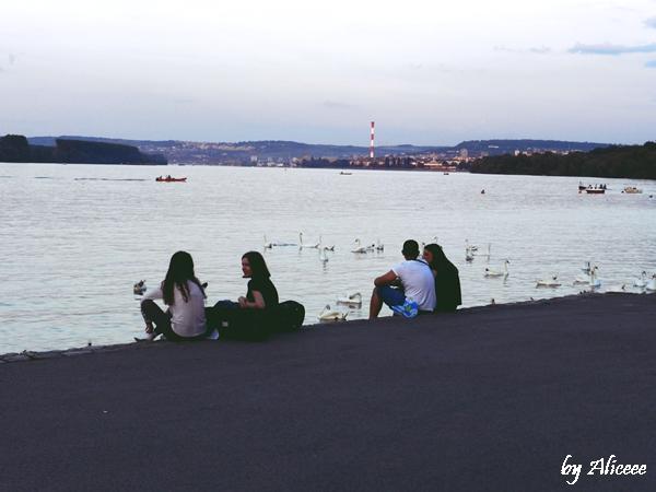 Serbia-Zemun-langa-Belgrad