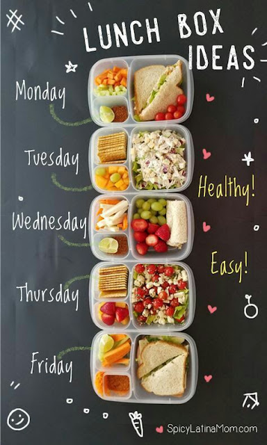 Idea Lunch Box Yang Boleh DiLakukan Untuk Diet Sihat