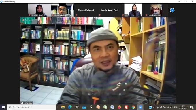 NGAJI IMPLEMENTASI FIKIH PERBANKAN SYARIAH BERSAMA PROF. DR. MUHAMAD, M.AG., CIRBC.