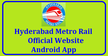 Hyderabad Metro Rail Official Website Android App Download for Complete Information @hmrl.telangana.gov.in HMRL Official Website Android App Download for Complete Information @hmrl.telangana.gov.in Telangana Govt and L & T working on Hyderabad Metro Rail for which people of Hyderabad waiting eagerly. Hyderabad Metro Rail Officials bringing complete Information throught its Official Web Portal and Android App you may Download Here http://hmrl.telangana.gov.in Information Vizz... Ticket Fairs Rout Map Smart Card Details Payment Methods Online Booking for Hyderabad Metro Rail Smart Card. Timings of Meteo Rail in Hyderabad we can get through HMRL Android App install for Regular Updates o create an efficient, safe, reliable, economical & world class public transportation system in Hyderabad which will facilitate the city's transformation as a competitive global city with high quality of life http://hmrl.telangana.gov.in/ /2017/11/hyderabad-metro-rail-official-website-android-app-download-complete-information-hmrl-telangana-gov-in.html