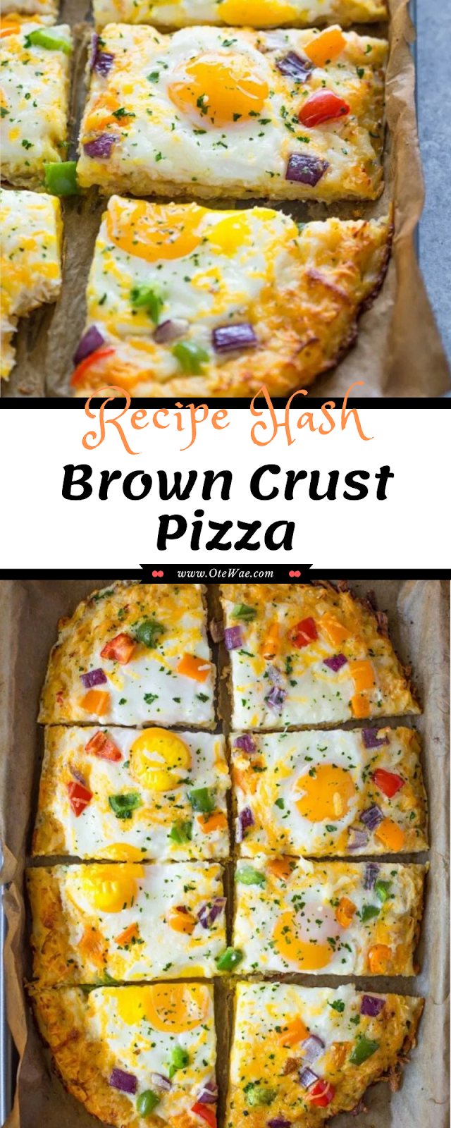 Hash Brown Crust Pizza