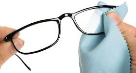 How to Use Sanitizer on Eyeglasses