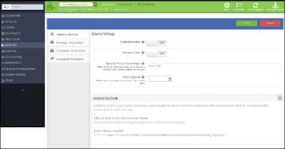 Customization of PrestaShop Price Alert Module | Knowband