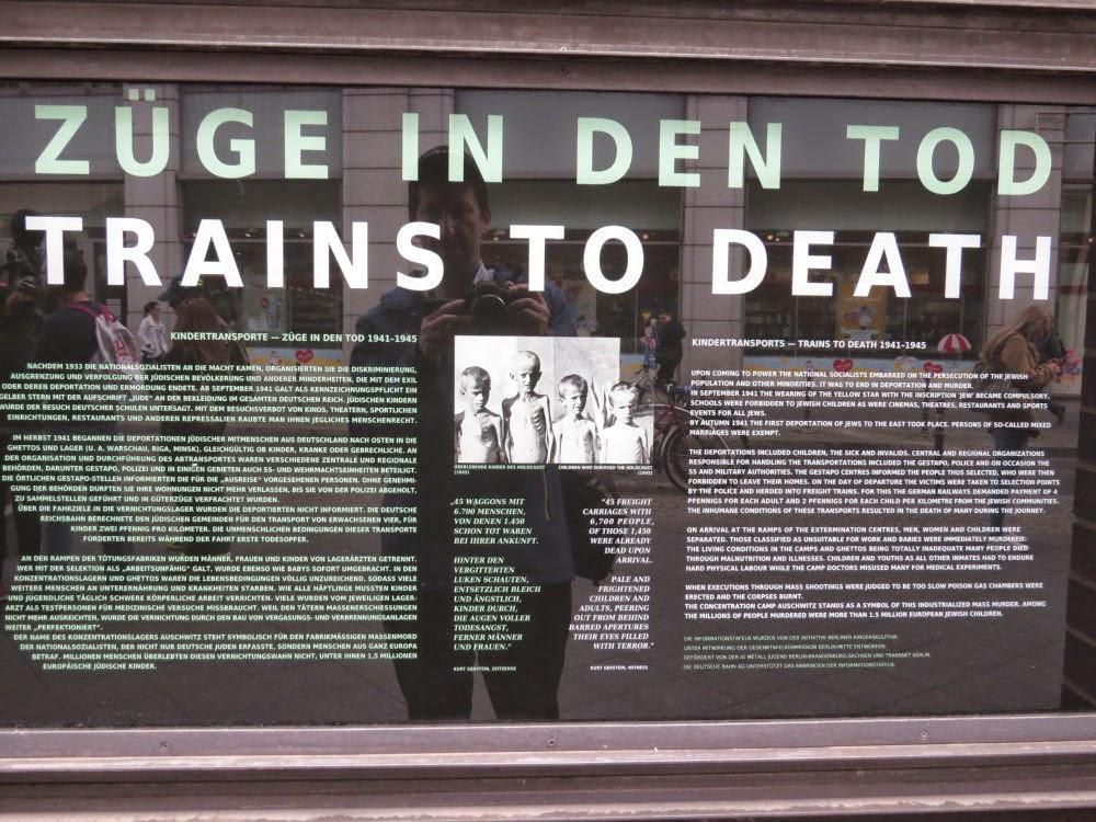 רכבות למוות - פרידריך שטראסה ברלין