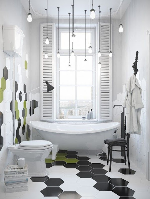 Dark Bathroom Interior Design