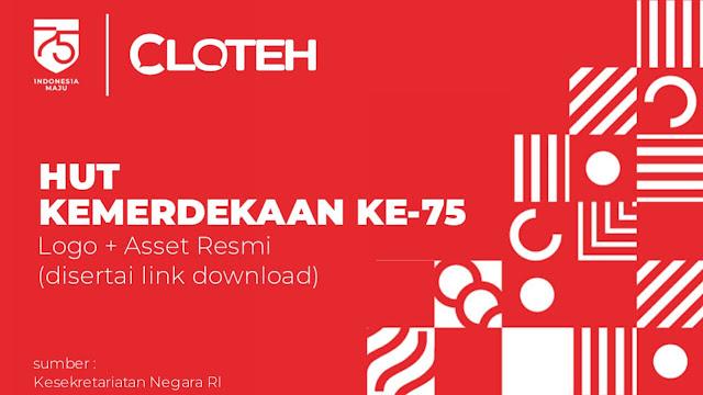 Download Resmi Logo + Asset Kemerdekaan 75 tahun RI