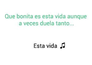 Jorge Celedón Esta Vida significado de la canción.