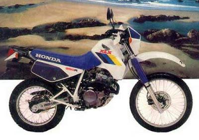 Ficha Técnica Honda XLX 350