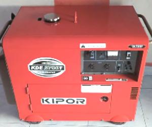 cara kerja mesin genset diesel
