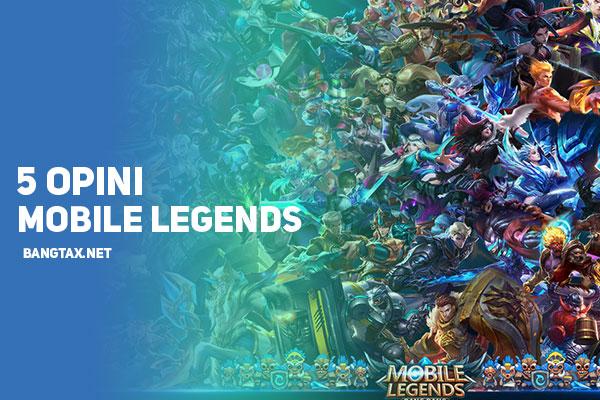 5 Opini Pemula Game Mobile Legends (Moba Yang Analog)