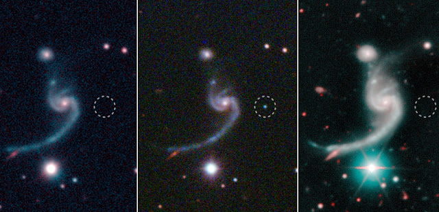 dying star emits a whisper