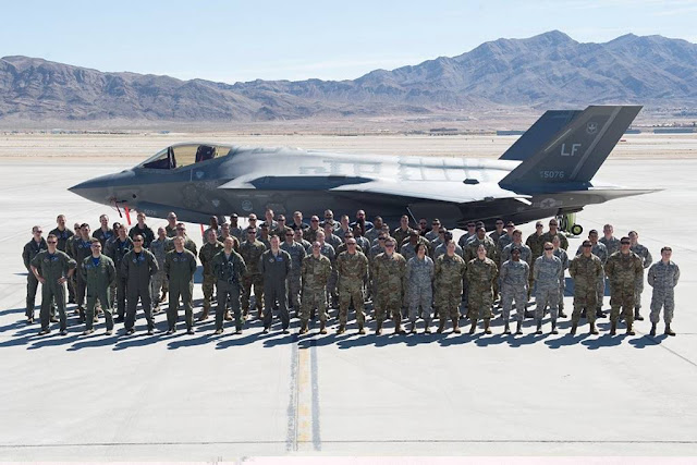 Italian F-35A pilots Red Flag