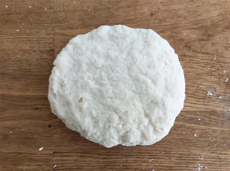 Boule de détrempe pour pâte feuilletée