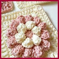 granny pop corn a crochet