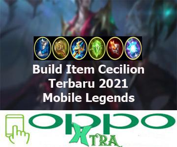 Build Item Cecilion Terbaru 2021 Mobile Legends