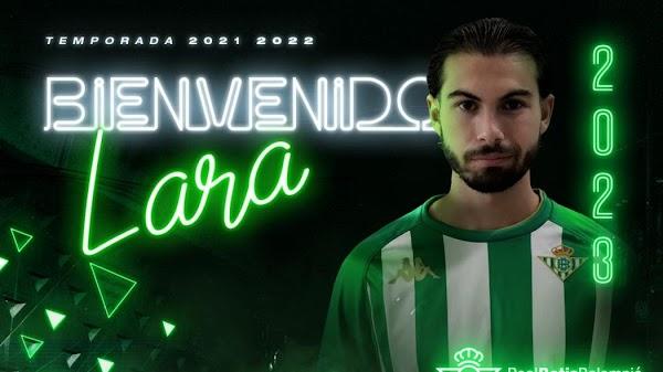 Oficial: El Betis Deportivo ficha hasta 2023 a Lara