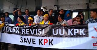 Revisi UU KPK Upaya Pelemahan KPK