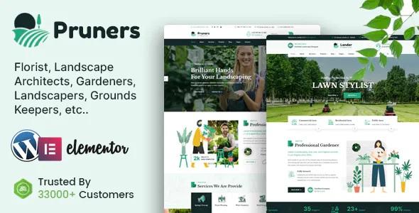 Best Garden Landscaper WordPress Theme