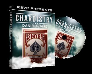 Download dvd of magic card tricks Chardistry by Daniel Chard