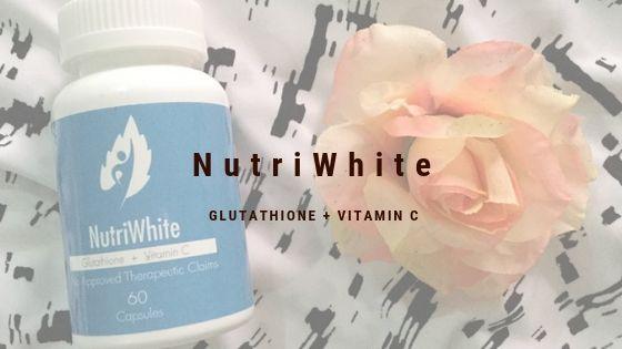 NutriWhite Glutathione + Vitamin C Review