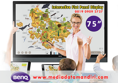 BenQ RM7501K Interactive Flat Panel