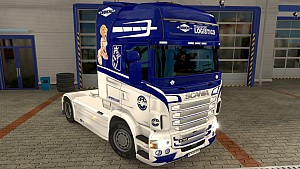 Scania RJL Diamond Logistic