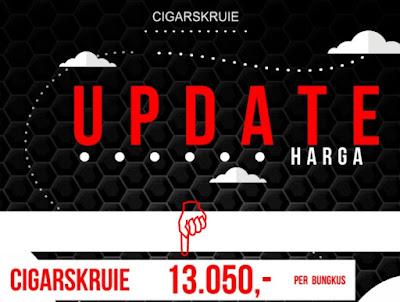 Update harga rokok cigarskruie CK terbaru 2020