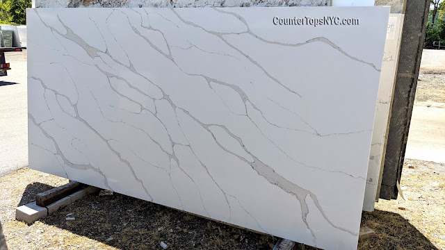 Calacatta Quartz Slabs For Countertops NYC