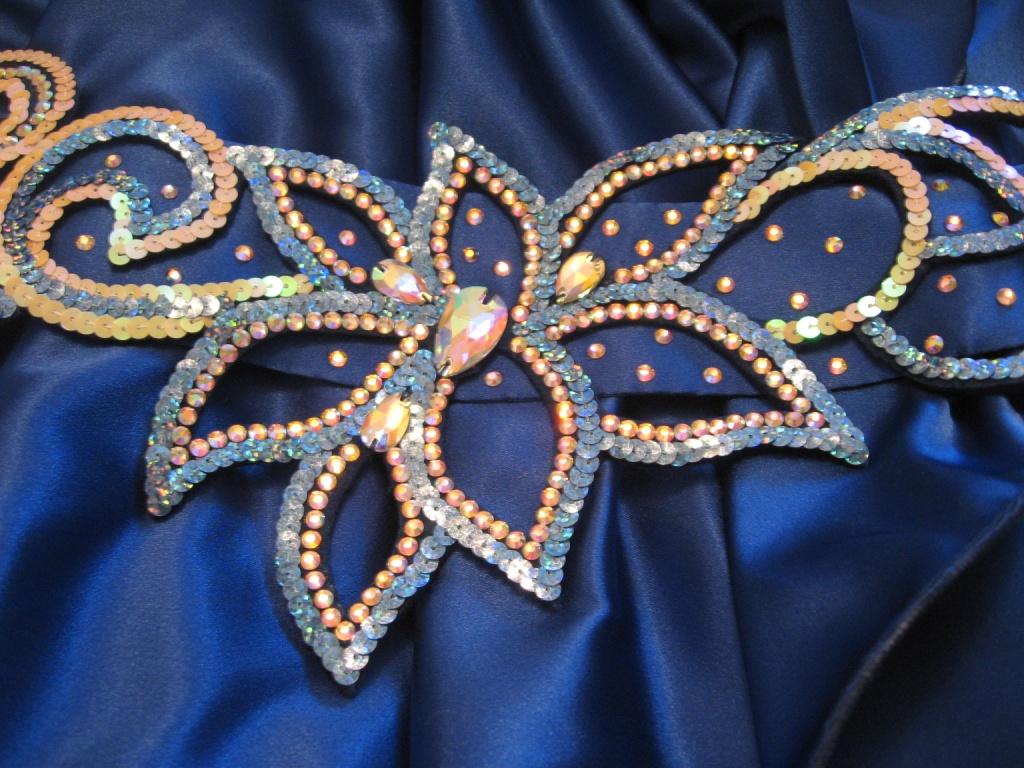 Пошив основы пояса для танца живота 100