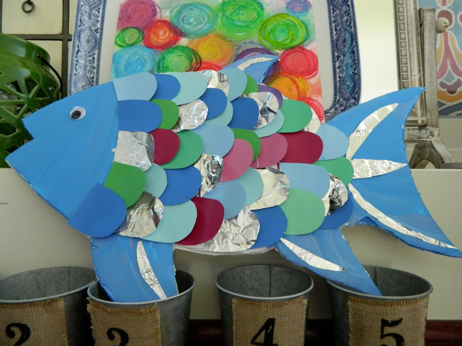 The Vintage Umbrella Rainbow Fish
