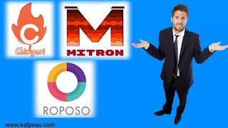 Mitron TV - Chingari - Roposo comparison in hindi which one is best