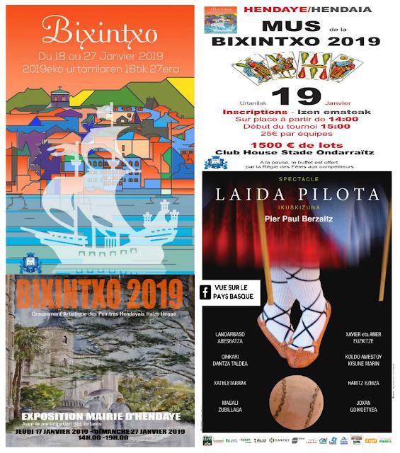 Fête de la Bixintxo Hendaye 2019 Pays Basque