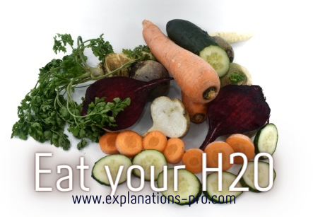 Eat your H2O