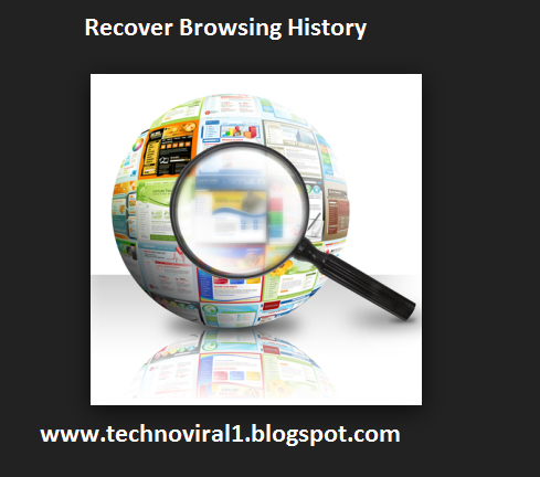 Recover Browsing History of your Android Mobile  Browser