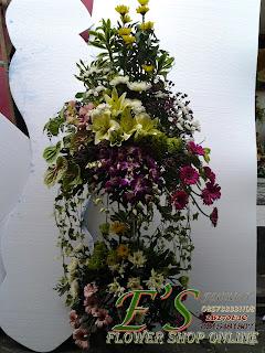 bunga standing susun anggrek