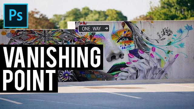 طريقة الرسم على الحائط  باستخدام نقطة التلاشي