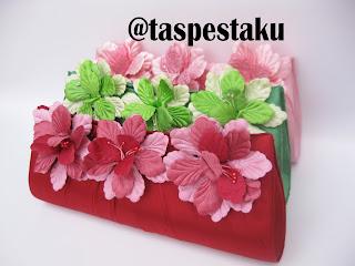 Tas Pesta Bunga Cantik dan Unik Koleksi Tas Pesta Ku