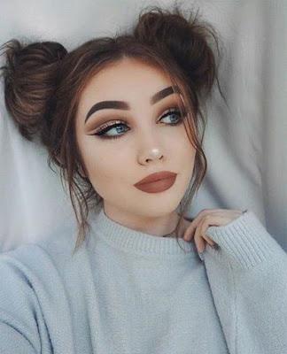 maquillajes tumblr sencillos y fáciles paso a paso