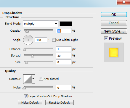 Drop-shadow-in-Photoshop-Layer-Style