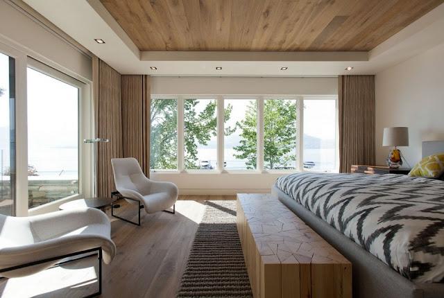 แบบห้องนอนลายไม้