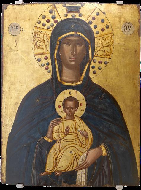 Nossa Senhora de Nicopea e o Menino Jesus