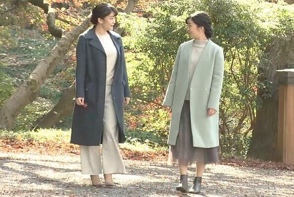 Princess Kako and her elder sister Princess Mako. Crown Princess Kiko. Princess Mako got married to Kei Komuro in a private ceremony