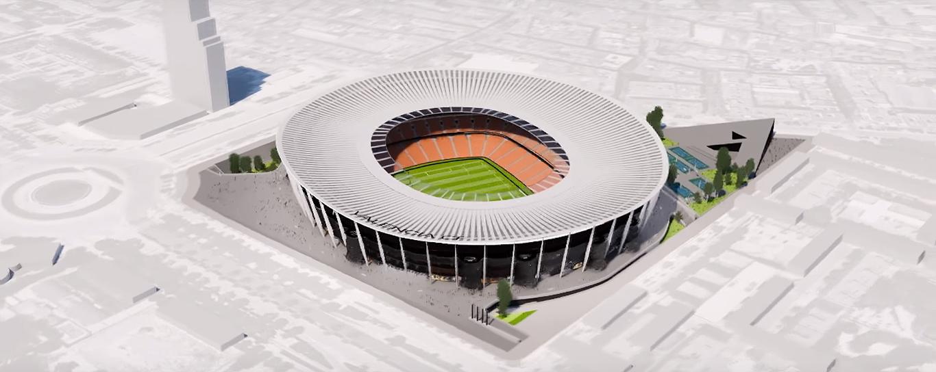 nuovo stadio valencia