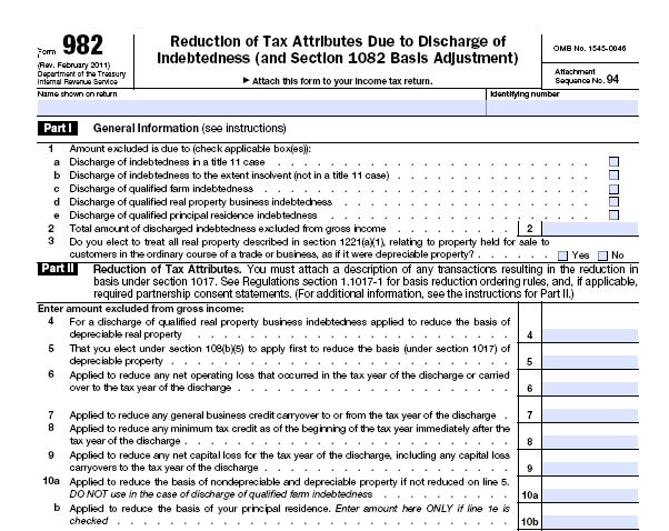 Insolvency Worksheet Form Worksheets Releaseboard Free printable – Irs Form 982 Worksheet