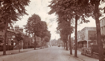 An interesting picture showing Bridge Street, Brigg, in the 1920s