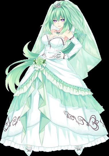 Wedding Green Heart by  jose7220