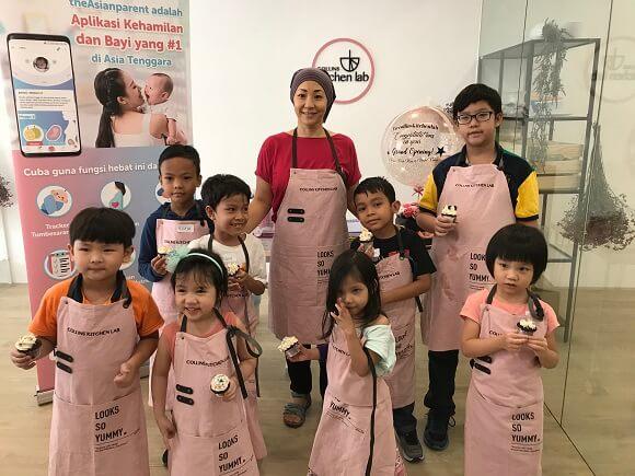 Kelas Baking Collins Kitchen Lab