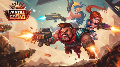 Metal Squad MOD APK v1.4.6 for Android Terbaru [Unlimited Money] Update 2018