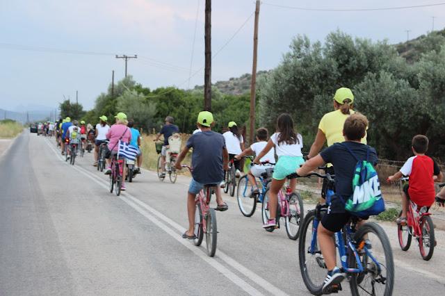 Με επιτυχία η ποδηλατοδρομία στα Ίρια Αργολίδας